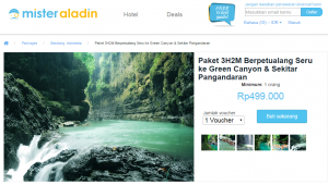 Paket 3H2M Berpetualang Seru ke Green Canyon   Sekitar Pangandaran   Mister Aladin