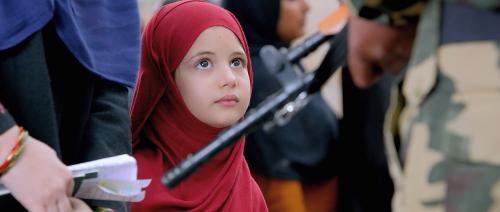 Shahida bocah manis berkerudung merah