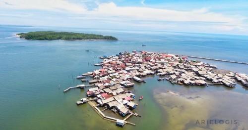 """Pulau kecil """"penyelamat"""" Pusong telaga Tujuh"""